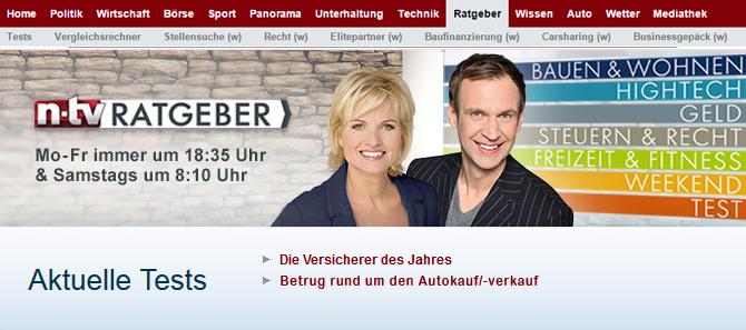 n-tv Bericht